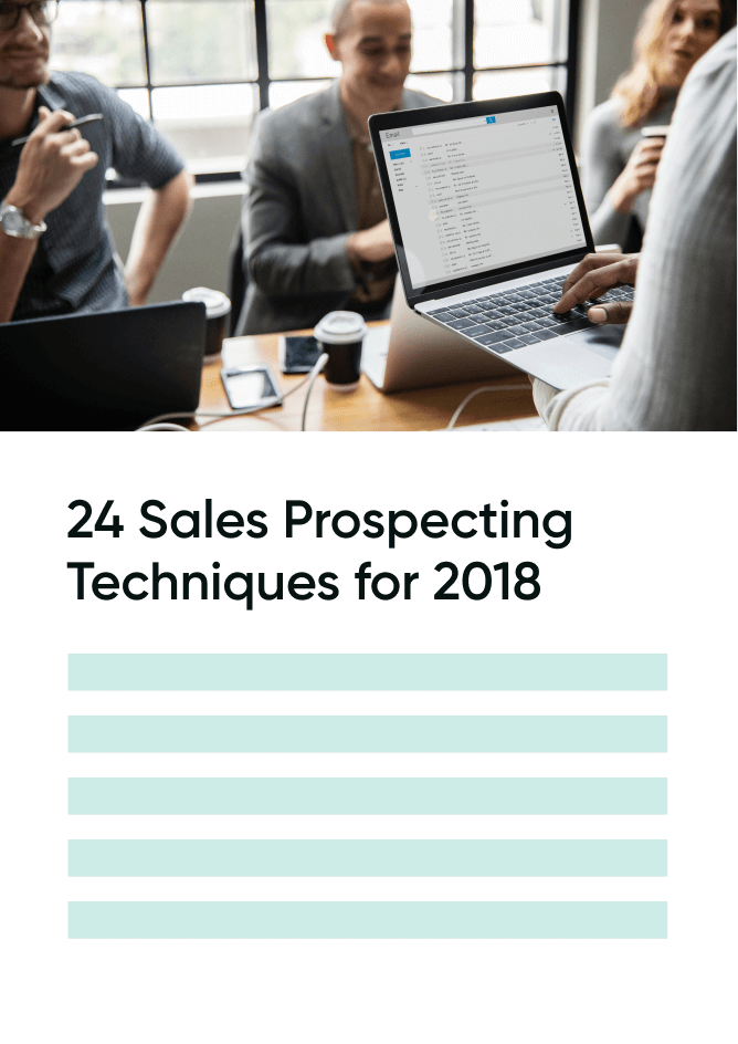 24 Sales Prospecting Techniques for 2018 | UpLead