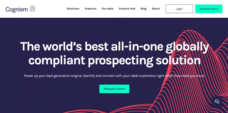 Cognism is a B2B sales and marketing lead generation platform