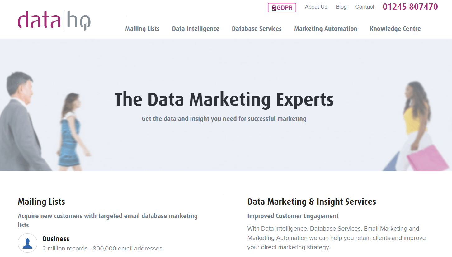 HQ Data Screenshot