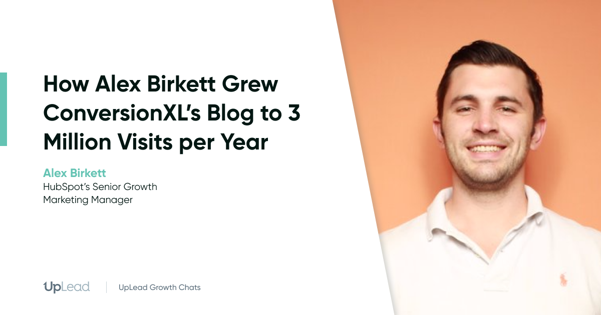 alex birkett hubspot conversionXL interview