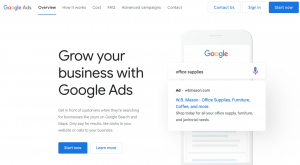 Google Ads is one of the top lead generation tools out there.