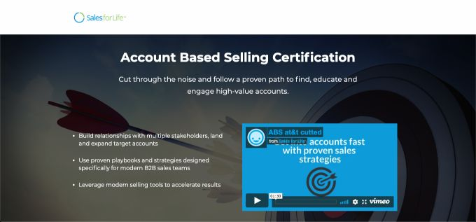 Sales for Life: Account-Based Selling