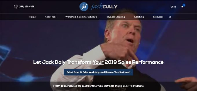 Jack Daly: Sales Workshops