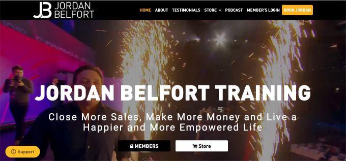 Jordan Belfort: Various Programs