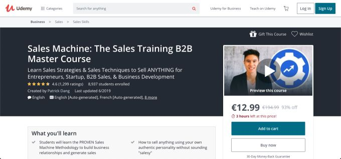 Sales Machine: The Sales Training B2B Master Source