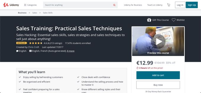 Practical Sales Techniques