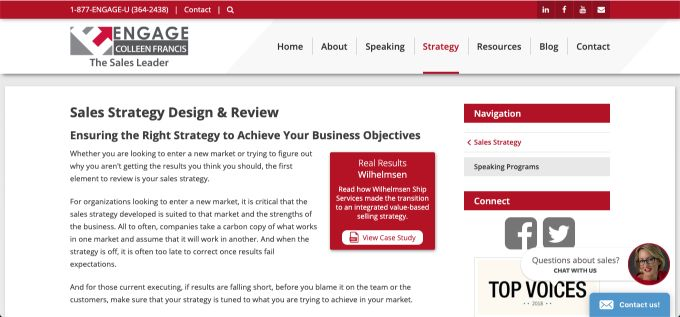 Engage Selling: Sales Strategy Design and Review