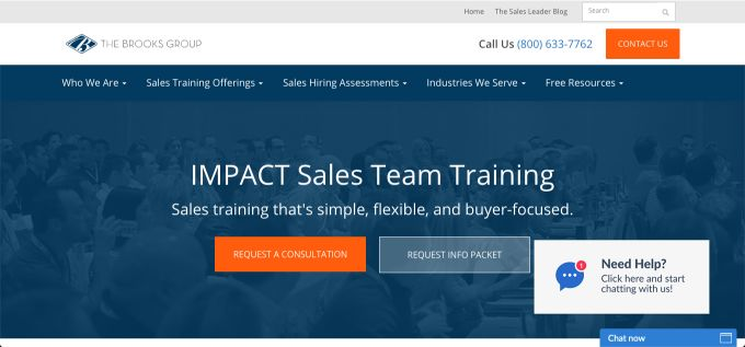 IMPACT Sales Team Training
