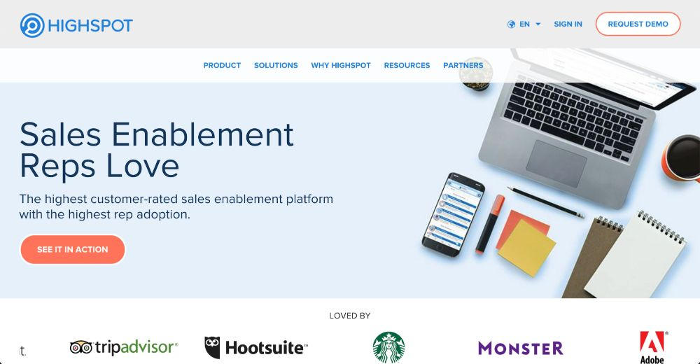 Highspot - Advanced Sales Enablement Tools and Software