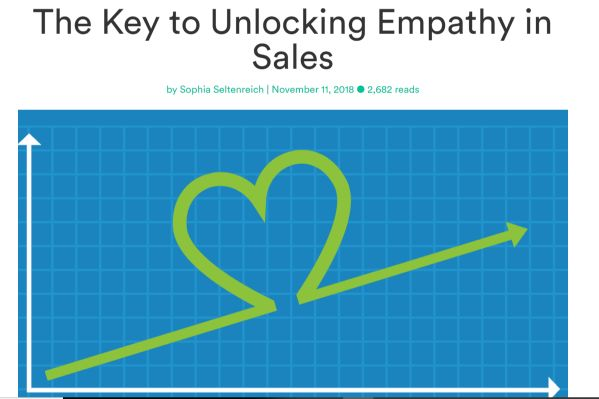 Unlocking empathy in sales