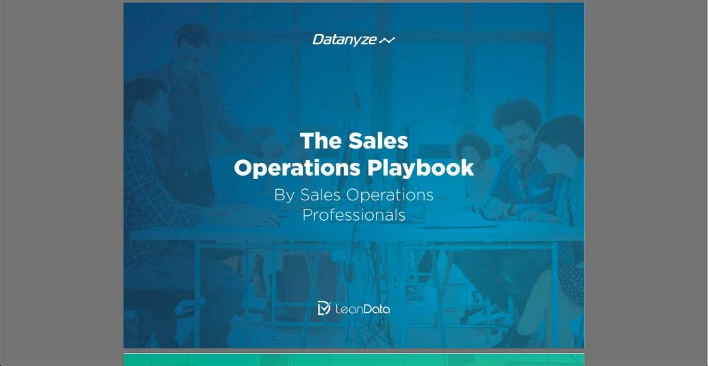 The Sales Operations Playbook: Datanyze