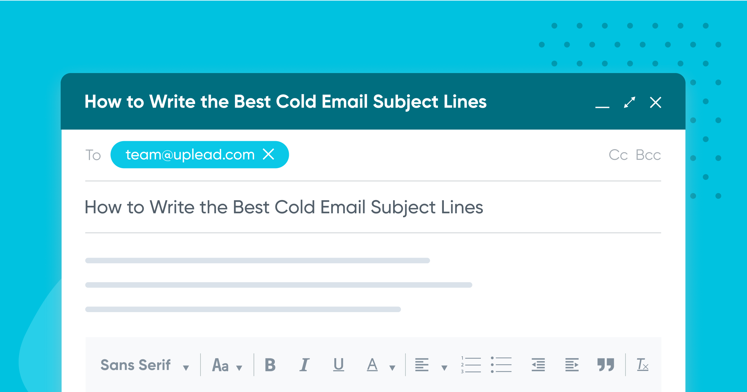 How to Write the Best Cold Email Subject Lines (incl. 150+ Templates & Examples)