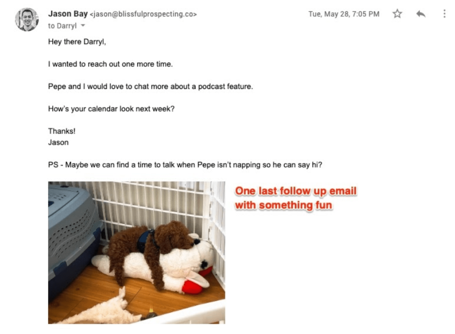 final follow up email