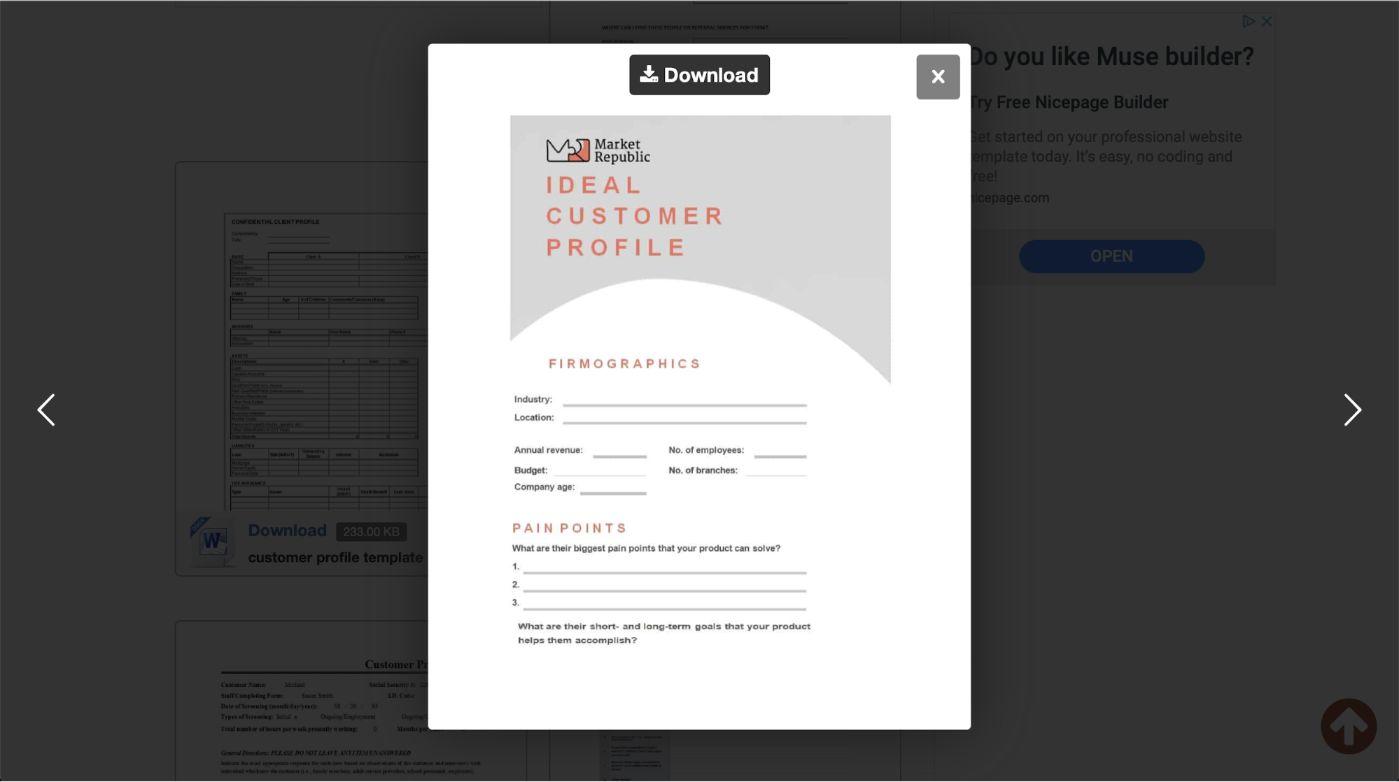 Market Republic - Ideal Customer Profile