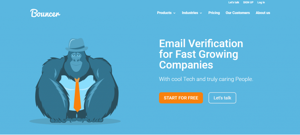 With Bouncer you can validate your emails and prevent typos in your email addresses.