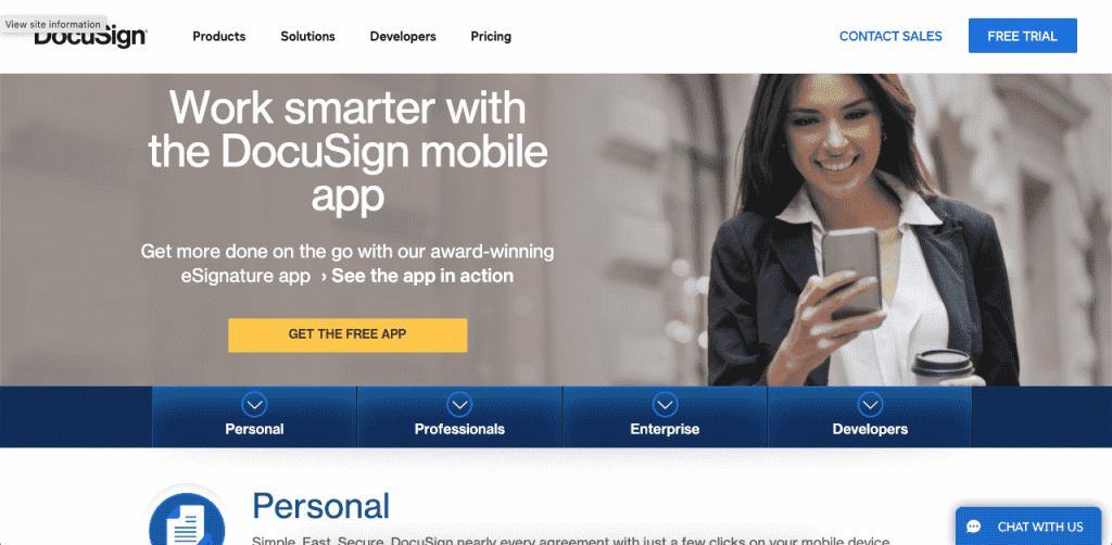 DocuSign lets you sign and return documents directly on your phone, desktop and tablet