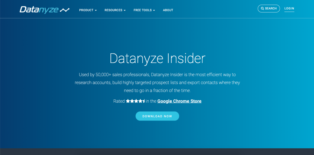 Datanyze Insider is a quality tool for businesses looking to create an effective, high-quality marketing campaign.
