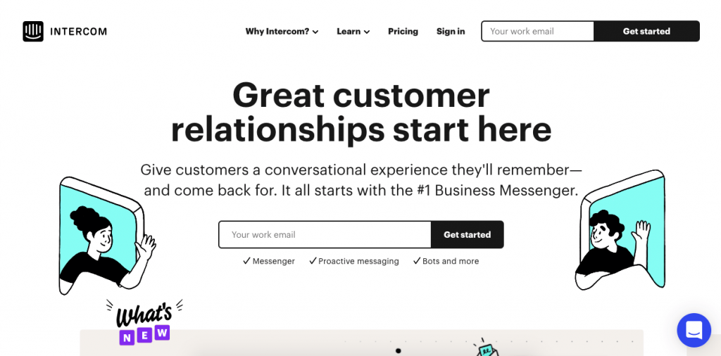 Intercom is a conversational relationship platform