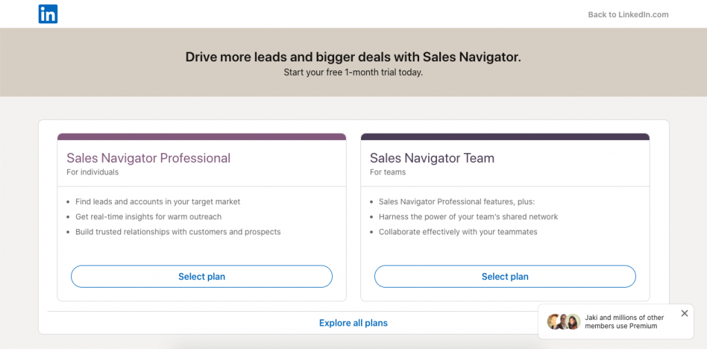 Created by the most popular professional social media platform, LinkedIn Sales Navigator is a powerful tool.
