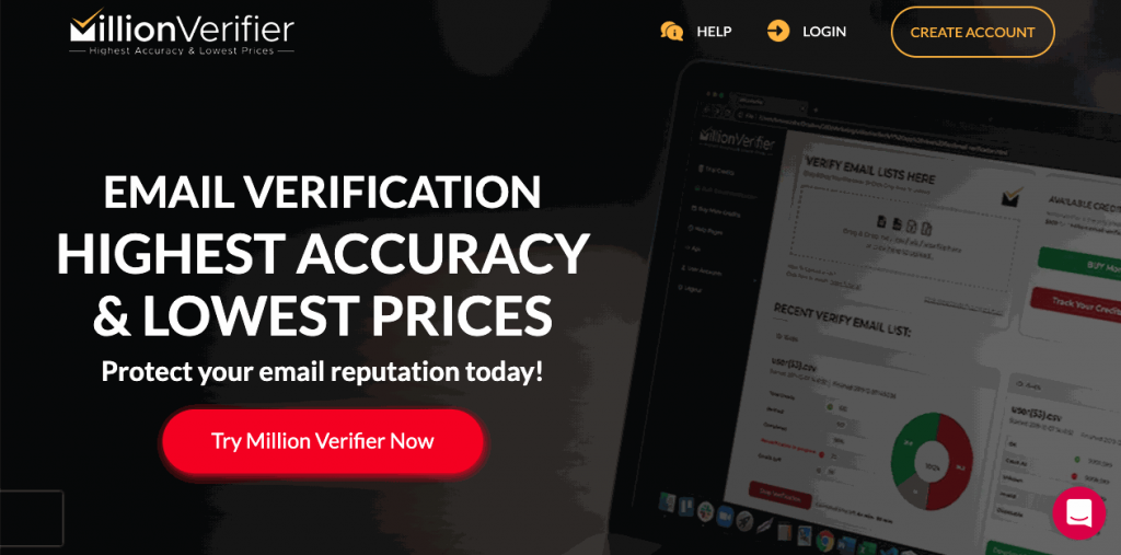 MillionVerifier is a highly accurate bulk email verifier with fair prices.