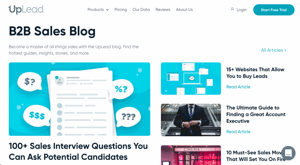 Blog posts and articles can fulfill your audience's queries and attract different user personas.