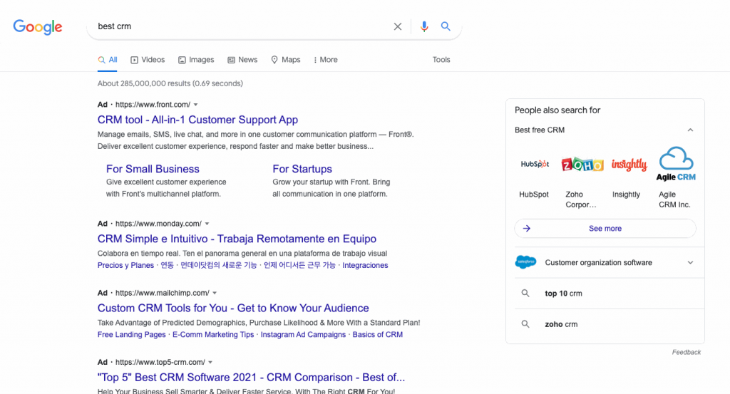 PPC ads, or Pay-Per-Click ads, are another, more expensive way to generate leads