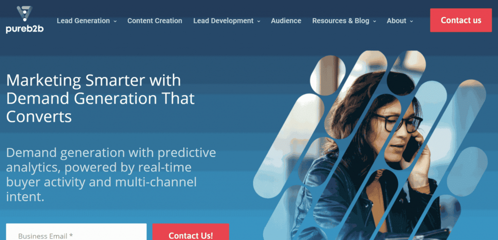 PureB2B is a data-driven lead generation partner