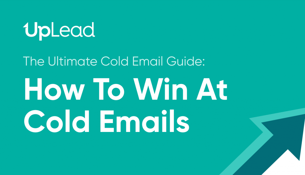 Cold email guide by UpLead