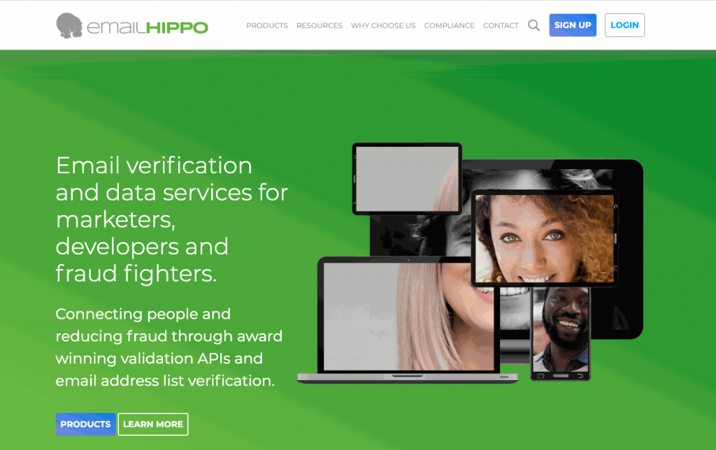 Email Hippo is another fast and accurate email verifier tool, allowing users to check a list of up to half a million emails at a time.